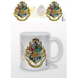Taza Hogwarts Crest- Harry Potter