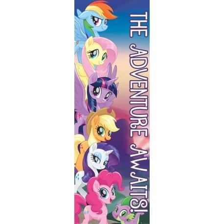 Poster Puerta Mi Pequeño Pony Las Aventuras agurdan
