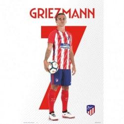 Poster Atletico De Madrid 2017/2018 Griezmann