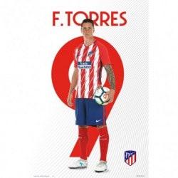 Poster Atletico De Madrid 2017/2018 Fernando Torres