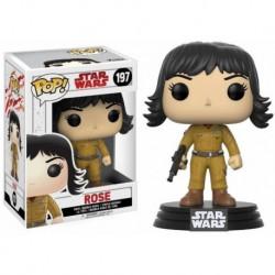 Figura Pop Bobble Star Wars VIII Rose - 9 cm