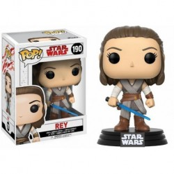 Figura Pop Bobble Star Wars VIII Rey - 9 cm