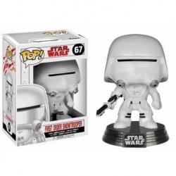 Figura Pop Bobble Star Wars VIII First Order Snowtrooper - 9 cm