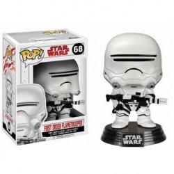 Figura Pop Bobble Star Wars VIII First Order Flametrooper - 9 cm