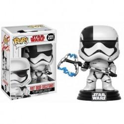 Figura Pop Bobble Star Wars VIII First Order Executioner - 9 cm