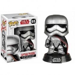 Figura Pop Bobble Star Wars VIII Capitan Phasma - 9 cm