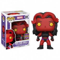 Figura Pop Bobble Marvel Red She Hulk SDCC Exc- 9 cm