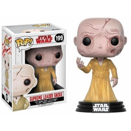 Figura Pop Bobble Star Wars VIII Supreme Leader Snoke - 9 cm