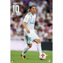 Poster Real Madrid 2017/2018 Modric