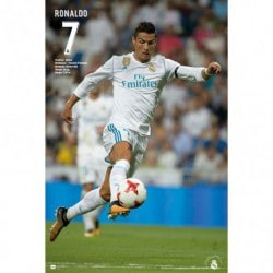Poster Real Madrid 2017/2018 Ronaldo