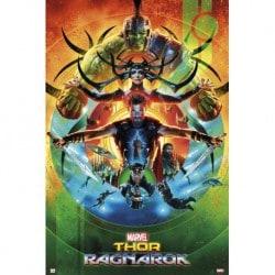 Poster Marvel Thor Ragnarok One sheet