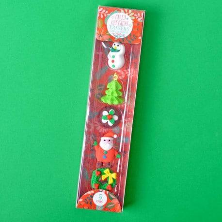Gomas de Borrar Navidad 1