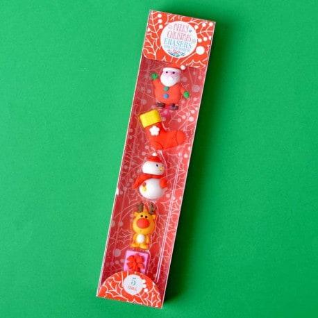 Gomas de Borrar Navidad 5