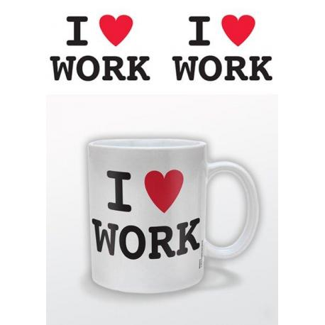 Taza I (Heart) Work
