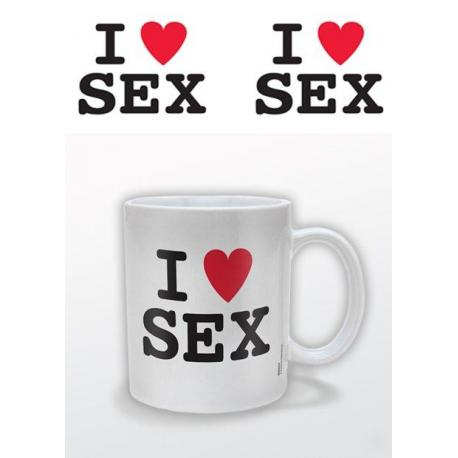 Taza I (Heart) Sex