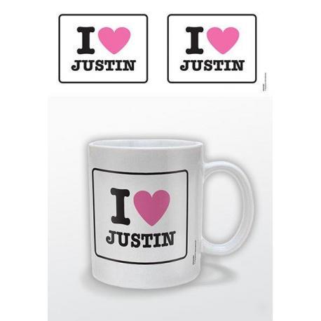 Taza I Heart Justin