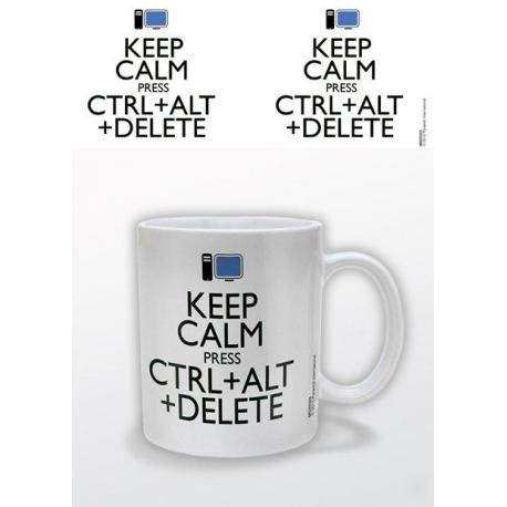 Taza Keep Calm Alt Delete