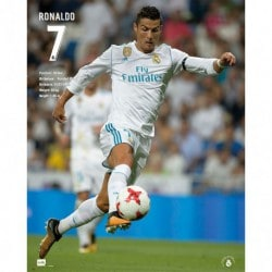 Mini Poster Real Madrid 2017/2018 Ronaldo
