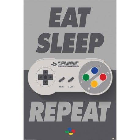 Poster Mando De Nintendo