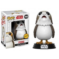 Figura Pop Bobble Star Wars VIII Porg Chase - 9cm EDICION LIMITADA