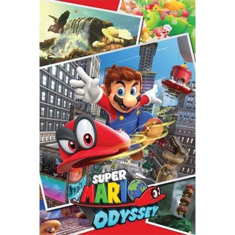 Poster Super Mario Odyssey
