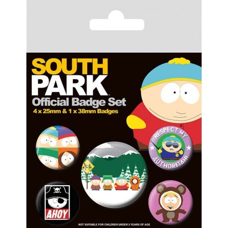 Pack de Chapas South Park