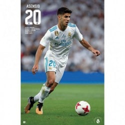 Poster Real Madrid 2017/2018 Asensio