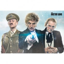 Poster Doctor Who (Twice Upon A Time)