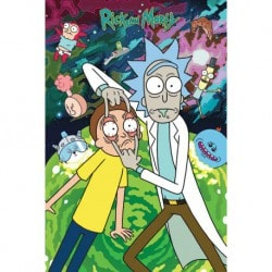 Poster Rick and Morty (Watch)