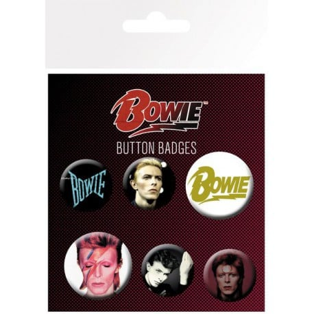 Pack de Chapas David Bowie Mix