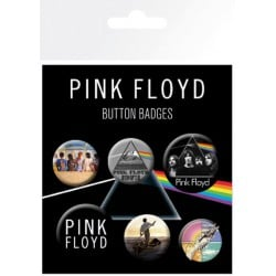 Pack de Chapas Pink Floyd Mix