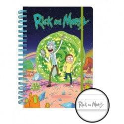 Cuaderno A5 Rick and Morty