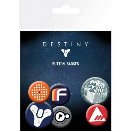 Pack de Chapas Destiny Mix