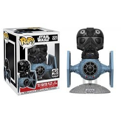 Figura Pop Star Wars Tie Fighter W/ Tie Pilot - 15 cm
