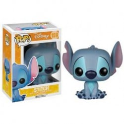 Figura Pop Disney Stich Sentado - 9 cm