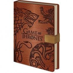 Cuaderno A5 Premium Juego de Trono Simbolos
