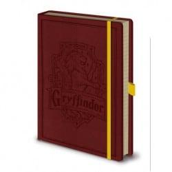 Cuaderno A5 Premium Harry Potter Gryffindor