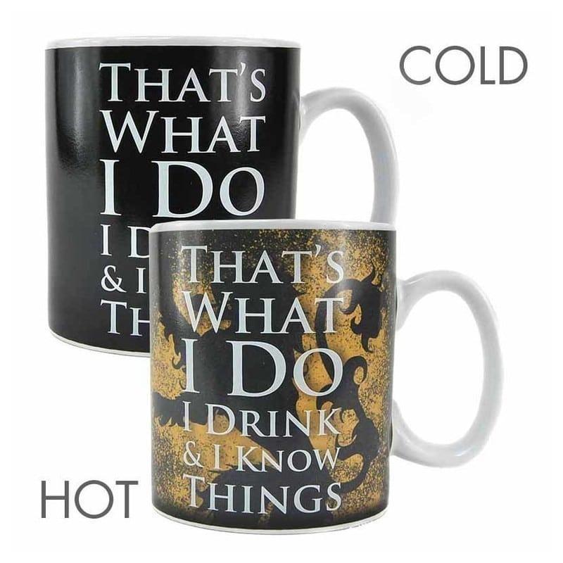 Taza termica juego de tronos tyrion - Taza termica para cafe ...