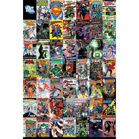 Poster Dc Comics-Montage