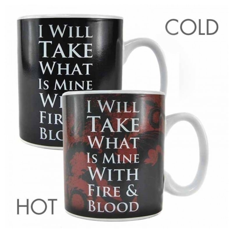 Taza termica juego de tronos daenerys - Taza termica para cafe ...
