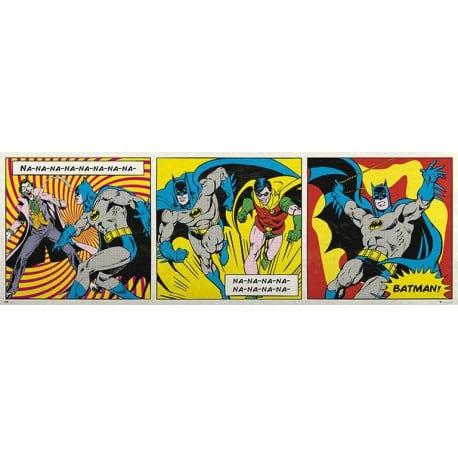 Poster Puerta Dc Comics Batman Triptico