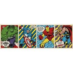 Poster Puerta Marvel Comics Triptico
