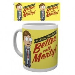 Taza Rick And Morty Better Call Morty