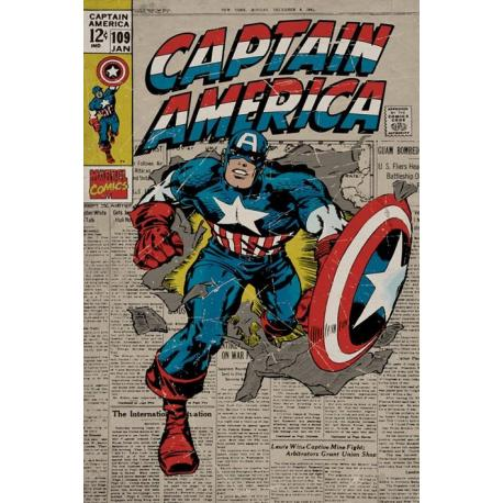 Poster Marvel Captain America