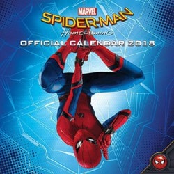 Calendario 2018 Spiderman Homecoming