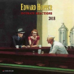 Calendario 2018 Edward Hopper Intimate Reactions