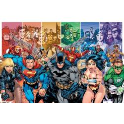 Poster Dc Comics-Justice League Of Amer