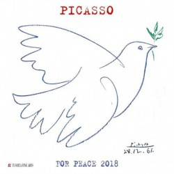 Calendario 2018 Pablo Picasso War And Peace