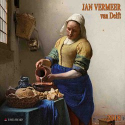 Calendario 2018 Jan Vermeer Van Delft