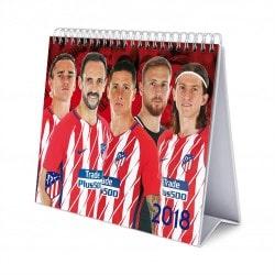 Calendario Sobremesa Deluxe 2018 Atletico de Madrid